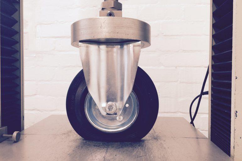 Compression Set on Castor Wheels