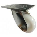100mm Swivel Top Plate Nylon Castor - Max. 600Kg (HEAVY DUTY FABRICATED)