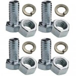 Qty. 4 - M12 x 40mm Long Bolts + Free Nuts & Washers