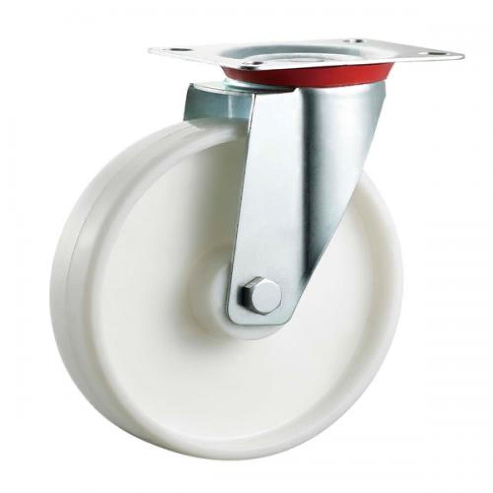 100mm Swivel Top Plate Nylon Castor - Max. 140Kg