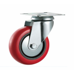 50mm Swivel Top Plate Polyurethane Castor - Max. 70Kg