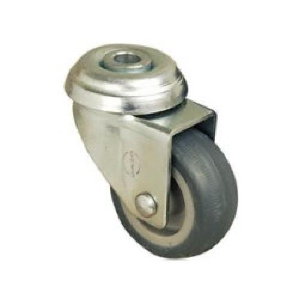 50mm NON MARKING Swivel Bolt Hole Castor - Max. 35Kg