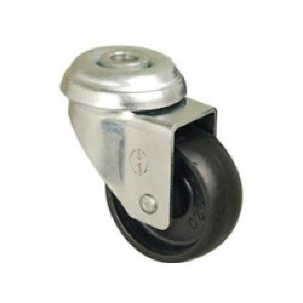 50mm Bolt Hole Swivel Polypropylene Castor - Max. 35Kg