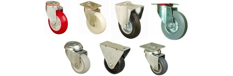 HEAVY DUTY CASTERS WHEELS UPTO 230KG