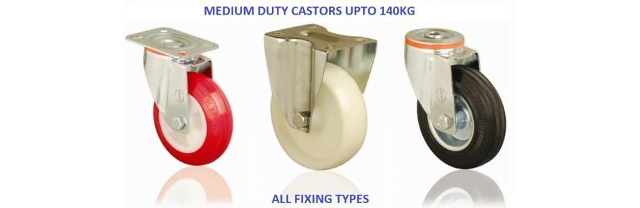 MEDIUM DUTY CASTER WHEELS UPTO 140KG